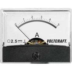 Conrad Analogové panelové měřidlo VOLTCRAFT AM-60X46/5A/DC 5 A