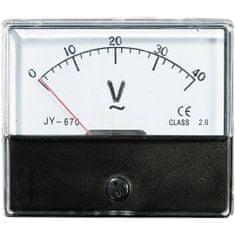 Conrad Analogové panelové měřidlo VOLTCRAFT AM-70X60/40V 40 V