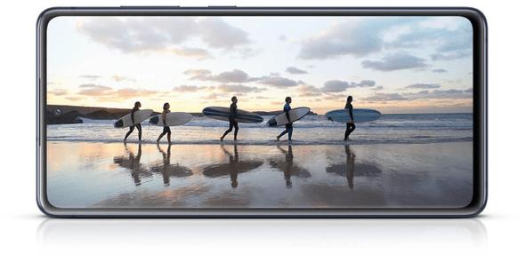 Samsung Galaxy S20 FE, Super AMOLED, 120 Hz, vysoká obnovovacia frekvencia