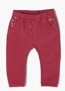 s.Oliver lány leggings, 50/56, piros