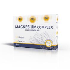 mcePharma Magnesium complex - biodostupný hořčík rozpustný v ústech, 20 sáčků