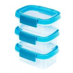 CURVER Posuda Microwave-Fresh 3 x 0,2 L, plava
