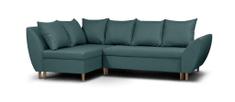 Importworld Rozkládací rohová sedací souprava Amiri, malmo 85 (barva potahu), levá