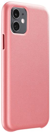 CellularLine Ochranný kryt Elite pro Apple iPhone 11, PU kůže, lososový ELITECIPHXR2O
