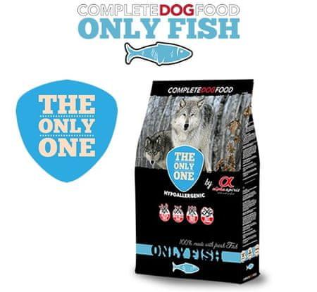 Alpha Spirit The Only One Only Fish hrana za pse, 12 kg