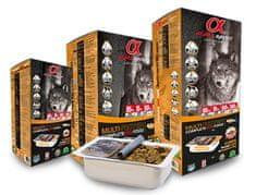 Alpha Spirit Višeproteinska poluvlažna hrana za pse, 9 kg