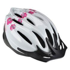 FISCHER 86142 Urban Hawaii cyklo helma bílá zdobená L/XL 2018