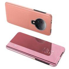MG Clear View knížkové pouzdro na Xiaomi Redmi K30 Pro / Poco F2 Pro, růžové