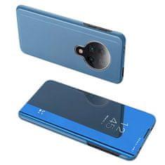 MG Clear View knížkové pouzdro na Xiaomi Redmi K30 Pro / Poco F2 Pro, modré
