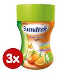 Sunar Instantní nápoj pomerančový, 3×200g
