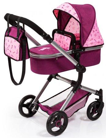Bayer Design Babakocsi Neo Vario világos rózsaszín/sötét rózsaszín