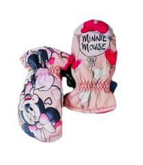 "SETINO Dievčenské rukavice ""Minnie Mouse"" - ružová"