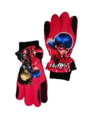 """SETINO Dievčenské lyžiarské rukavice """"Miraculous""""- červená"""