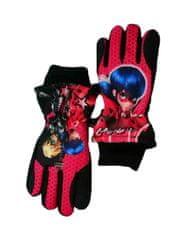 """SETINO Dievčenské lyžiarské rukavice """"Miraculous"""" - čierna"""