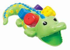 Sassy Crocodile z kostkami, 12m +