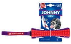 GiGwi hračka pro psy Johnny Stick aport zvukový červeno/purpurový