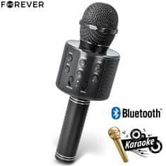 Forever BMS-300 mikrofon in zvočnik, 3 W, Bluetooth, črn