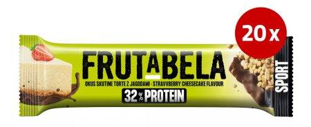 Fructal Frutabela rezina, Protein Cheesecake, 20 x 40 g