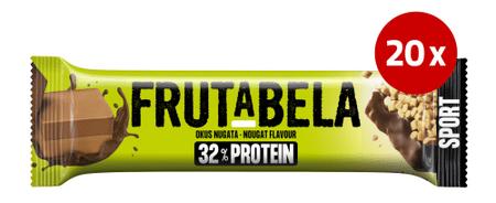 Fructal Frutabela rezina, Protein Nougat, 20 x 40 g