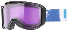 Uvex lyžařské brýle Snowstrike, black mat/psycho (2224)