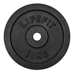 Rulyt LifeFit uteg, crni, 10 kg