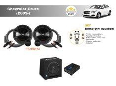 Musway Kompletní ozvučení Chevrolet Cruze (2009-) - skvělý zvuk
