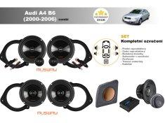Musway Kompletní ozvučení Audi A4 B6 Avant (2000-2006) - skvělý zvuk