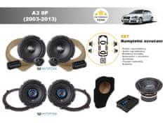 Autotek Kompletní ozvučení Audi A3 8P (2003-2013) - nejlepší cena