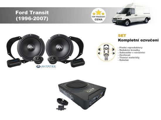 Autotek Kompletní ozvučení Ford Transit (1996-2007) - nejlepší cena