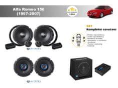 Autotek Kompletní ozvučení Alfa Romeo 156 (1997-2007) - nejlepší cena