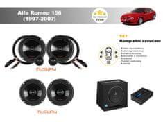 Musway Kompletní ozvučení Alfa Romeo 156 (1997-2007) - skvělý zvuk