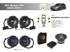 Autotek Kompletní ozvučení Alfa Romeo 159 Sportwagon (2005-2011) - nejlepší cena