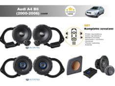 Autotek Kompletní ozvučení Audi A4 B6 Avant (2000-2006) - nejlepší cena