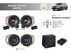 Autotek Kompletní ozvučení Suzuki S-Cross (2013-) - nejlepší cena