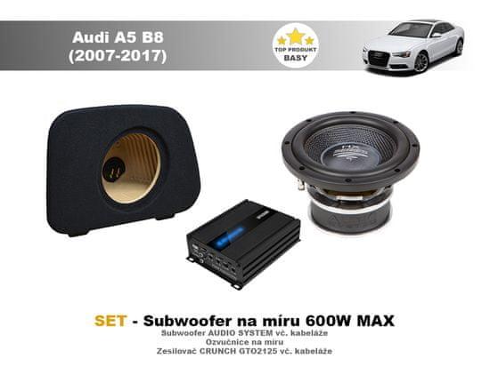Audio-system SET - subwoofer na míru do Audi A5 B8 Sportback (2007-2017) - Audio System