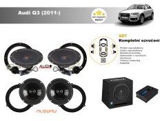 Musway Kompletní ozvučení Audi Q3 (2011-) - skvělý zvuk