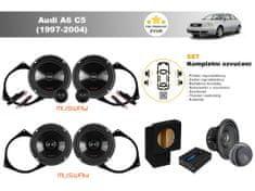 Musway Kompletní ozvučení Audi A6 C5 (1997-2004) - skvělý zvuk