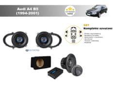 Autotek Kompletní ozvučení Audi A4 B5 (1994-2001) - nejlepší cena