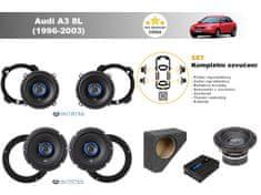 Autotek Kompletní ozvučení Audi A3 8L (1996-2003) - nejlepší cena