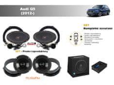 Musway Kompletní ozvučení Audi Q5 (2012-) - skvělý zvuk