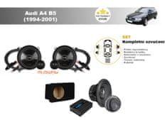 Musway Kompletní ozvučení Audi A4 B5 (1994-2001) - skvělý zvuk