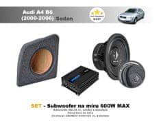 Helix SET - subwoofer na míru do Audi A4 B6 Sedan (2000-2006) - Helix