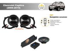 Musway Kompletní ozvučení Chevrolet Captiva (2006-2015) - skvělý zvuk