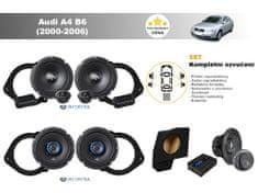 Autotek Kompletní ozvučení Audi A4 B6 Sedan (2000-2006) - nejlepší cena
