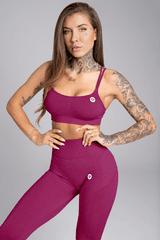 Gym Glamour Podprsenka Seamless Jelly Berry