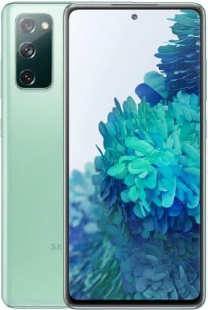 Samsung Galaxy S20 FE pametni telefon, 6GB/128GB, nebeško zelen