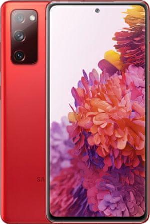 Samsung Galaxy S20 FE pametni telefon, 6GB/128GB, nebesko crvena