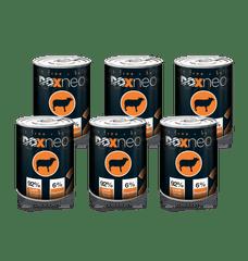 Doxneo 2 konzerva jahňa 6x400 g