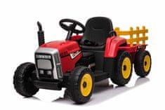 Beneo Elektromos traktor WORKERS utánfutóval, Hátsó kerék meghajtás, 12 V-os akkumulátor, távirányító
