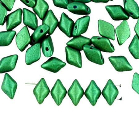 Kraftika 60db matt arany fény sötét olíva zöld matubo gemduo rombusz